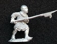 halberdiers halberd  -  Bretonnian army metal lot  men at arms retainer