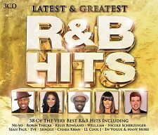 R & B HITS-LATEST & GREATEST (SEAN PAUL, BLACK EYED PEAS, UVM ...) 3 CD NEU