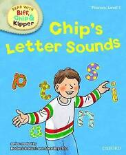 NEW - CHIP'S LETTER SOUNDS  - LEVEL 1 (OXFORD READING TREE Phonics)  Stage 1