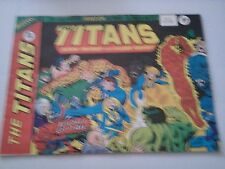 The Titans Issue 43 UK Comic Nick Fury Fantastic Four