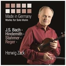 Made in Germany: Works for Solo Violin 2013 by Paul Hindemith; Johan -exlibrary-