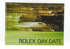 Rolex Day-Date Booklet Manual 1985 English