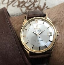 Omega Constellation Pie-Pan De Luxe Automatic 18K Solid Yellow Gold. Immaculate!