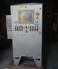 large Stainless steel switch control cabinet industrial touch screen computer