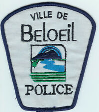 VILLE DE BELOEIL QUEBEC CANADA POLICE PATCH