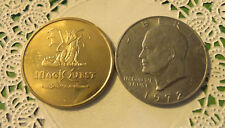 Commerative large/dollar size /heavy medal/Token /Great Wolf Lodge PA  #24