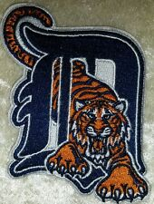 "Detroit Tigers ""D"" Big 3"" Iron On Embroidered Patch ~ FREE SHIP!!~"