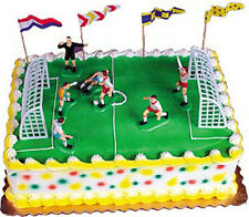 SOCCER MATCH Cake Decorating Kit  Topper Sports Birthday Party Decoration
