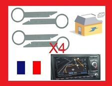 4 clef extraction auto radio démontage VW touareg RNS2 modele vw 2