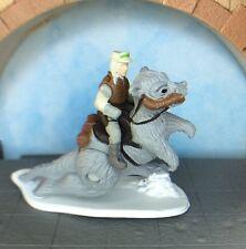Star Wars Micro Machine Luke Skywalker Riding Taun Taun Hoth Action Fleet Galoob