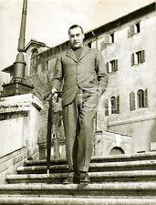 CURZIO MALAPARTE Tournage Il Cristo Proibito Toscane Italie Ecrivain Photo 1951