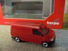 1/87 Herpa VW T6 Kasten rot 028721