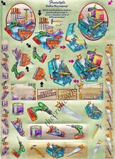 DIY Tools Die Cut Dufex 3d Decoupage Card Making Craft *NO CUTTING REQUIRED*