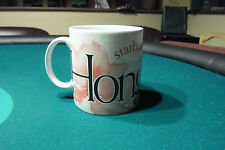 Starbucks Hong-Kong Collector Series mug 2004 Pink Lotus MINT Original - 20oz