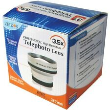 Zeikos ZE-3537T 3.5x Professional HD Tele Telephoto Lens for 37mm Filter thread