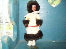 Vintage Native American Inuit Eskimo Doll Eyes Shut