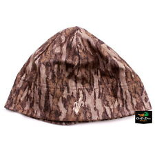 AVERY GREENHEAD GEAR GHG FLEECE SKULL CAP CATTAIL LOGO HAT BOTTOMLAND CAMO