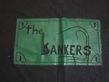 Vintage The Bankers Bank Money Gangsters Funny Iron On T Shirt S