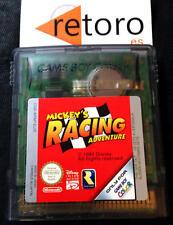 MICKEY'S RACING ADVENTURE Gameboy Game Boy COLOR PAL Español RARE Funcionando
