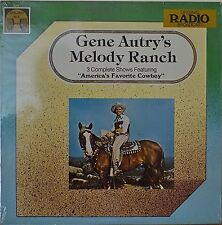 GENE AUTRY'S MELODY RANCH-SEALED1977LP 3 Complete Shows