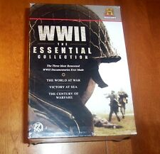 WWII ESSENTIAL COLLECTION Victory at Sea World at War Century of Warfare DVD SET