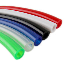 "1 FT PVC UV Tubing For Water Cooling System 3/8"" ID x 5/8"" OD Tubing G1/4 Red"