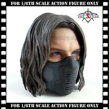 Hot Toys Captain America The Winter Soldier MMS241 FIGURE 1/6 Scale MASKED HEAD