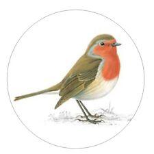 Figura Decoración Pasteles Navidad Pájaro Robin x 24