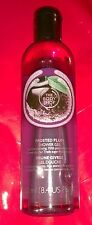 The BODY Shop BODY WASH 250 ml 8.4 oz holiday NEW - FROSTED PLUM