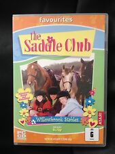 THE SADDLE CLUB ~ WILLOWBROOK STABLES  ~ PC CD-ROM ~ WINDOWS ~ VERY RARE
