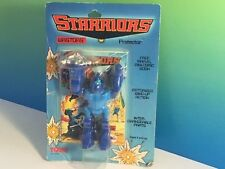 STARRIORS ACTION FIGURE ROBOT 1984 TOMY MOC WASTOR PROTECTOR RIPSAW BLADE SHIELD