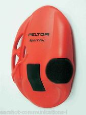 Peltor Sporttac Earshell in Red 210100-478-RD New Per Pair Main Peltor Dealer