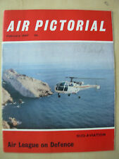AIR PICTORIAL MAGAZINE FEBRUARY 1967 SUD ALOUETTE III HELICOPTER