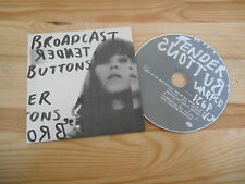 CD Indie Broadcast-tender Buttons (8 chanson) promo warp rec