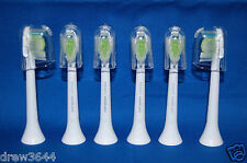 Philips Sonicare DiamondClean FlexCare HealthyWhite 6 Toothbrush Heads Brand New