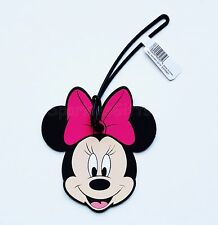 Disney - Minnie Mouse - Minnie Head/face with Pink Bow Soft Touch Luggage Tag