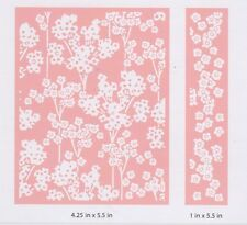 Kirstie Allsopp CUTTLEBUG™ Embossing Folder DOTTY STEMS & BORDER 2002316 REDUCED