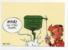 SPIROU. Carte postale La Chasse aux Chasseurs. TOME & JANRY. 1994