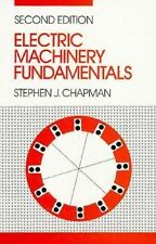 Electric Machinery Fundamentals by Stephen J. Chapman (1991, Hardcover)