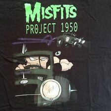 Vintage MISFITS PROJECT 1950 PROMO T-SHIRT ORIGINAL Ramones Black Flag punk tee