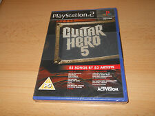 Guitar Hero 5 JUEGO SONY PLAYSTATION 2 PS2 Nuevo Sellado