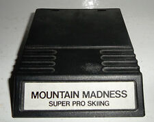 Rare Intellivision MOUNTAIN MADNESS SUPER PRO SKIING HTF INTV Game EX Condition