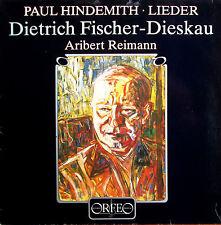 Paul Hindemith Lieder Dietrich Fischer-Dieskau - Orfeo S 156 861 A - NM/VG