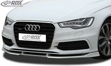 Audi A6 C7 (S-Line & S6 only) - Front splitter Vario Diffuser PUR Plastic