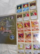 NEO Pocket Monsters Japanese Pokemon trading card lot 24 Cards 1996 Game Freak@@