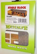 Metcalfe PN822 Mini Kit - Stable Block, Card Kit (N Gauge)  New