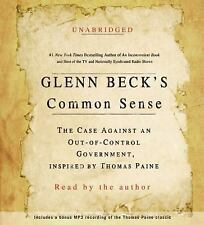 Glenn Beck's COMMON SENSE Unabridged Audiobook 3 CDs SEALED New 2009 Free Ship