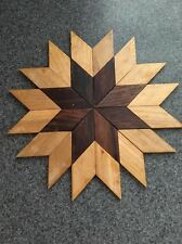 Beautifull Wood Floor Parquet Sun Star Medallion