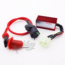 Ignition Coil 6 Pin AC CDI Box For GY6 50 125 cc 150cc Moped Scooter ATV Go Kart