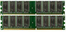 2GB (2X1GB) DDR Memory GigaByte GA-8IPE1000-G